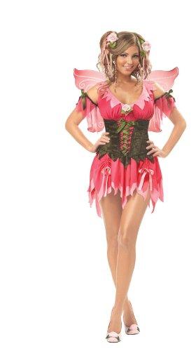 California Costumes Women's Rose Fairy Costume,Pink,XX-Large