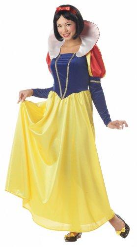 California Costumes Women's Snow White,Blue/Yellow,Large Costume