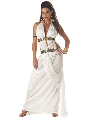 California Costumes Women's Spartan Queen,White,Small Costume