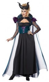California-Costumes-Womens-Storybook-Sorceress-Adult-BlackPurple-Medium-0