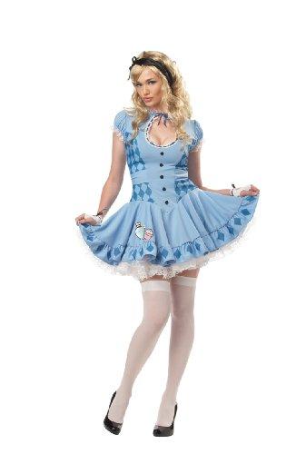 California Costumes Women's Sweet Alice Costume,Blue,Small