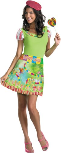 Candyland Ladies Adult Costume Size Small (4-6)