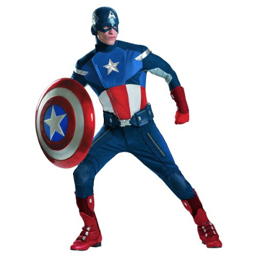 Captain America Theatrical Costume – X-Large – Chest Size 42-46