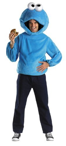 Cookie Monster Costume – Medium – Chest Size 38-40