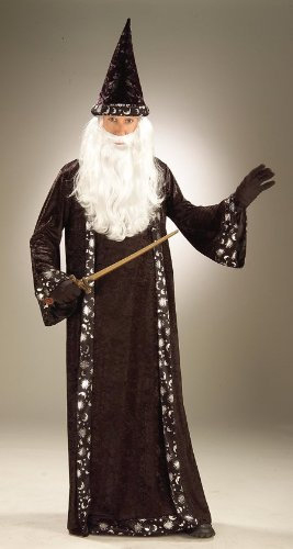 Costumes For All Occasions Fm59474 Wizard Hat And Robe