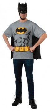 DC-Comics-Batman-T-Shirt-With-Cape-And-Mask-Black-X-Large-0