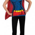 DC-Comics-Super-Girl-T-Shirt-With-Cape-Blue-Small-Costume-0-1