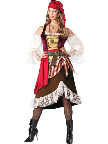 Deckhand Darling Women's Pirate Costume