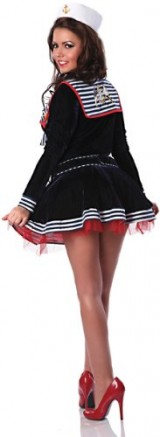 Delicious-Womens-Pin-Me-Up-Sailor-Sexy-Costume-BlueRedWhite-LargeX-Large-0-3