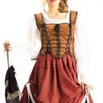Deluxe-Scottish-Brigadoon-Costume-Medium-Dress-Size-10-14-0-1