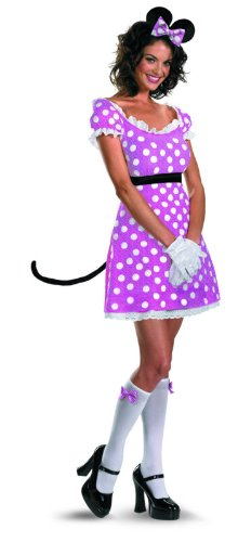 Disguise-Disney-Mickey-Mouse-Clubhouse-Sassy-Minnie-Mouse-Costume-PinkWhiteBlack-Medium8-10-0-0