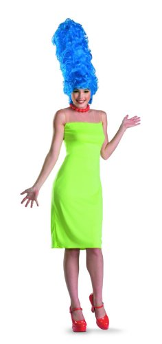 Disguise-The-Simpsons-Marge-Deluxe-Womens-Adult-Costume-GreenBlueRed-Medium8-10-0-0