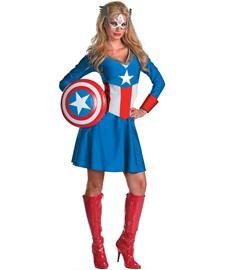 Disguise Unisex Adult Classic American Dream, Red/White/Blue, Large (12-14) Costume