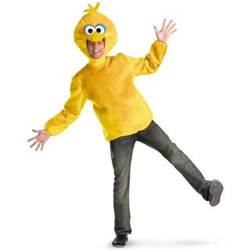 Disguise-Unisex-Adult-Male-Big-Bird-Yellow-X-Large-42-46-Costume-0
