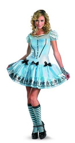 Disguise-Womens-Alice-In-Wonderland-Movie-Sassy-Dress-Costume-Light-Blue-Large-0-0