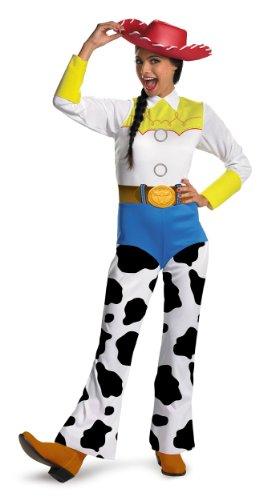 Disguise-Womens-Disney-Pixar-Toy-Story-and-Beyond-Jessie-Classic-Costume-WhiteBlackBlueYellow-Small-0-0