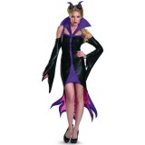 Disguise-Womens-Disney-Sleeping-Beauty-Maleficent-Sassy-Costume-PurpleBlack-Large-0-0