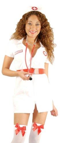 Double Zip Nurse Adult Costume (Extra Large)