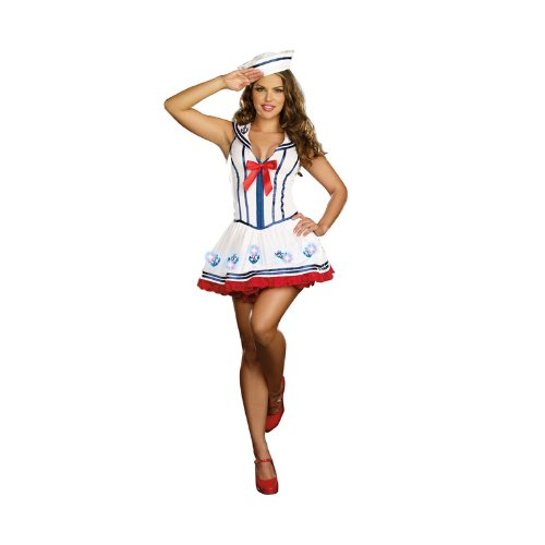 Red And Blue Halloween Costumes Costume White/blue/red