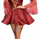 Dreamgirl-PLUS-Juliet-Jacquard-Print-Dress-Burgundy-3X-4X-0-5