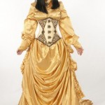 Dress-Like-A-Pirate-Brand-1869-Satin-Bustle-Skirt-Real-Clothing-not-Costume-UK24-New-Gold-0-3