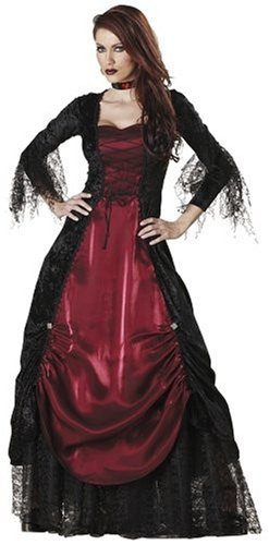 Elite Collection by InCharacter Costumes Gothic Vampira Adult Costume – Size Small