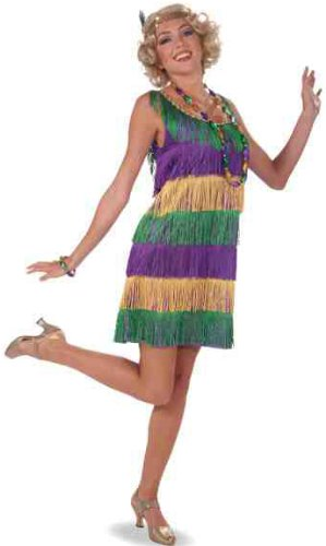 Forum 1920's Masquerade Party Costume, Multi-Colored, One Size