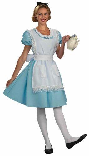 Forum Alice In Wonderland Alice Costume, Blue, Standard