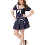 FunWorld-Plus-Size-Anchors-Away-Navy-BlueWhite-16W-20W-Costume-0-0