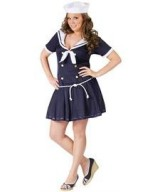 FunWorld-Plus-Size-Anchors-Away-Navy-BlueWhite-16W-20W-Costume-0-0