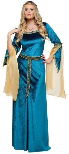 FunWorld Renaissance Princess Diamond Collection, Blue, 4-6 Small Costume