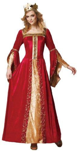 HGM International Medieval Queen Renaissance Fair Womens Halloween Costume Small