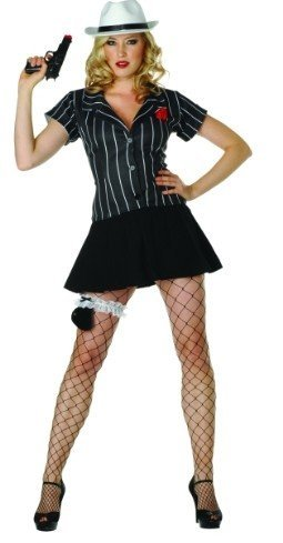 Hoodlum Honey w/ Hat – Size 12-14 Costume