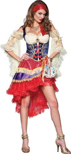 InCharacter Costumes Good Fortune, Red/Tan/Blue, Medium
