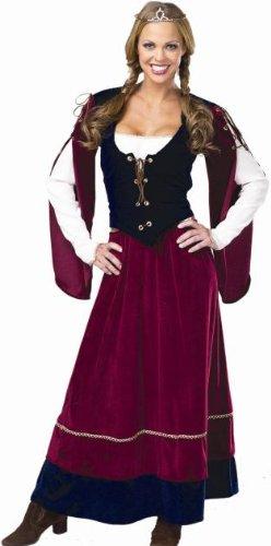 Lady Renaissance Adult Costume – Large (14-16)