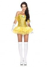 Leg-Avenue-3-Piece-Enchanting-Beauty-Sequin-Corset-Tutu-Skirt-Yellow-Large-0-0