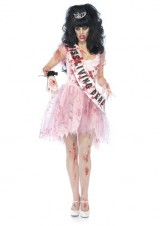 Leg-Avenue-Costumes-3PcPutrid-Queen-Bloody-Tattered-Prom-Dress-Sash-Crown-Womens-Pink-SmallMedium-0-0