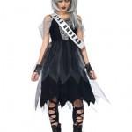 Leg-Avenue-Costumes-4PcZombie-Prom-Queen-Dress-Sash-Fingerless-Gloves-Tiara-Black-SmallMedium-0-0