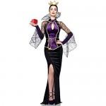 Leg-Avenue-Disney-3PcEvil-Queen-Includes-Dress-Belt-and-Crown-Head-Piece-Black-Small-0