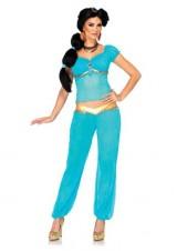 Leg-Avenue-Disney-3PcJasmine-Off-The-Shoulder-Top-Harem-Pants-Head-Piece-Aqua-Small-0-0