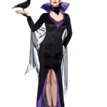 Leg-Avenue-Disney-3PcMaleficent-Dress-Stay-Up-Collar-and-Head-Piece-Black-Medium-0-0