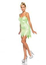 Leg-Avenue-Disney-3PcNeverland-Tink-Dress-Pompom-Clips-and-Iridescent-Fairy-Wings-Green-Medium-0-0
