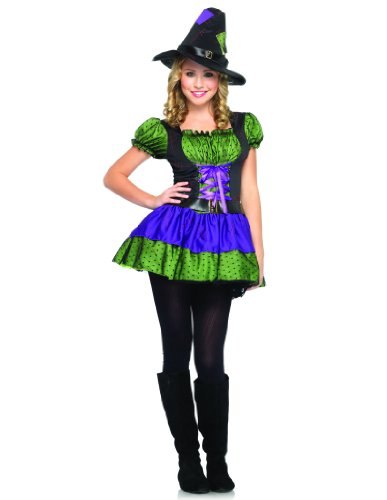 Leg-Avenue-Juniors-2-Piece-Hocus-Pocus-Witch-Dress-PurpleGreen-MediumLarge-0-0
