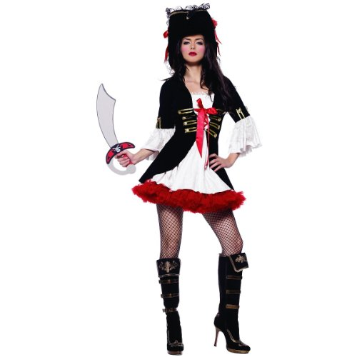 Captain Swashbuckler Costume – Small – Dress Size 4-6