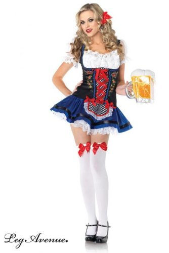 Leg-Avenue-Womens-Flirty-Frauline-Apron-Dress-Multi-X-Small-0-0