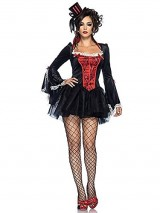 Leg-Avenue-Womens-Transylvania-Temptress-Tutu-Dress-BlackRed-MediumLarge-0-0