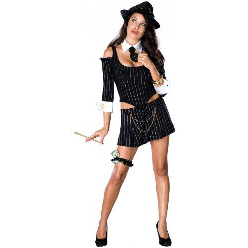 Mafia Princess Costume – Medium – Dress Size 10-14