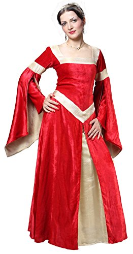 Medieval Renaissance Pirate Lady of Leeds Dress Gown (Large)
