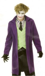 Mens-LG-42-44-Psycho-Clown-Costume-in-Velvet-ShirtMake-up-not-incl-0