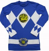 Mighty-Fine-Mens-Blue-Ranger-Long-Sleeve-Costume-Shirt-Large-0